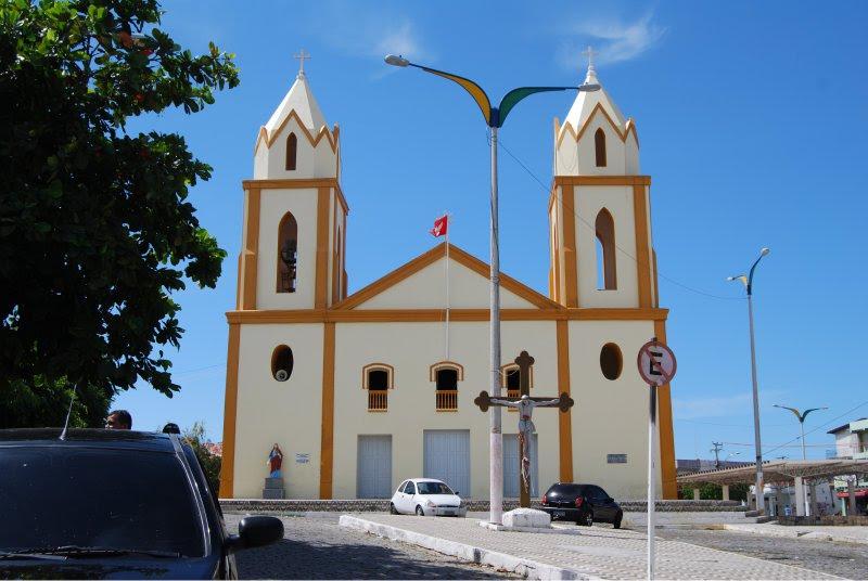 Igreja Matriz do Divino Espírito Santo em Morada Nova.