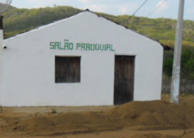 Salão Paroquial da Capela de São Francisco da Chagas em Olho d'Água do Bezerril, em 2012.