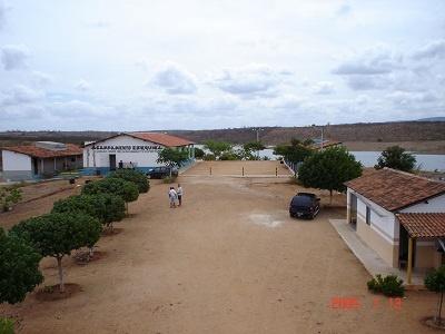Imagem do Acampamento Rev. Ezequiel Fragoso Vieira, em 2005.