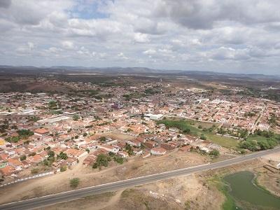 Imagem aérea do Bairro Boaviaginha em 2013.
