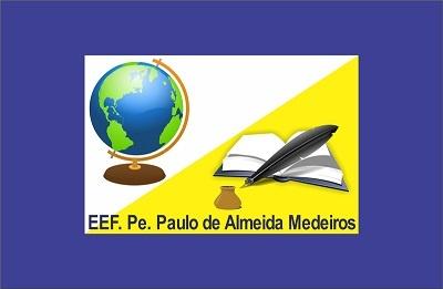 Bandeira da Escola de Ensino Fundamental Pe. Paulo de Almeida Medeiros.