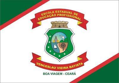 Imagem da Bandeira da EEP Venceslau Vieira Batista.