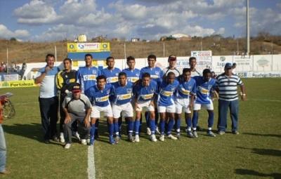 Imagem de uma das formações do Boa Viagem Esporte Clube, em 2009.