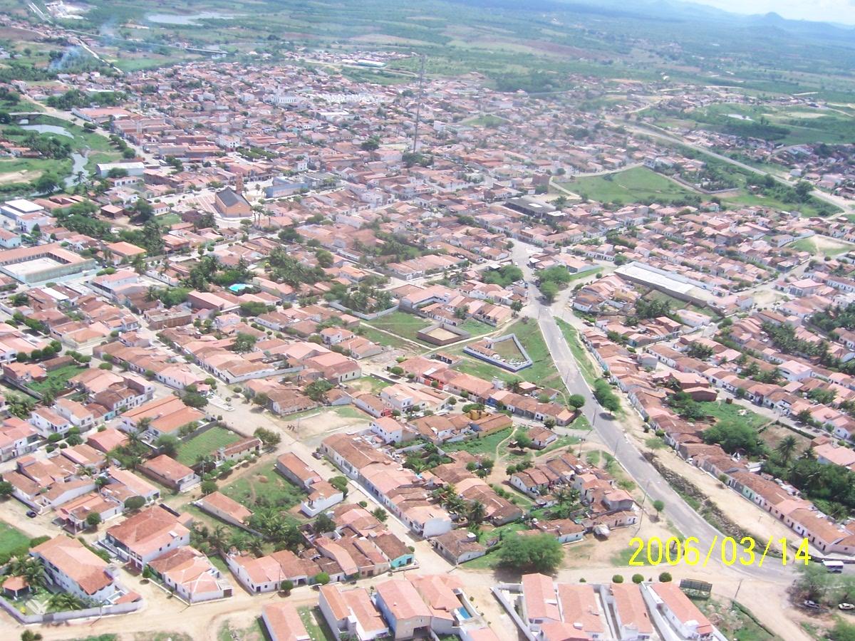 Centro da cidade de Boa Viagem em 2013.