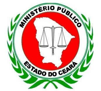 Brasão do Ministério Público do Estado do Ceará.