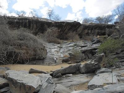 Imagem da Cachoeira do Escondido, em 2014.