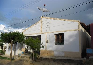 Imagem da casa de Francisco Braga do Nascimento.