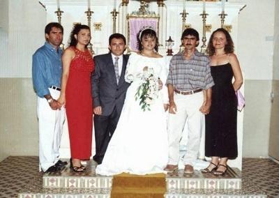 Imagem do casamento de