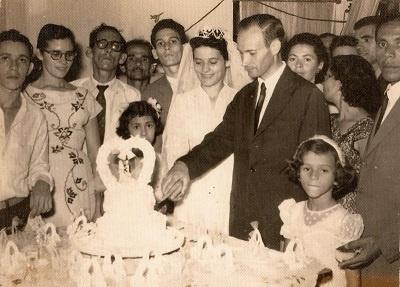 Imagem da festa de casamento.