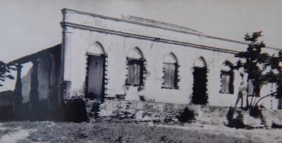 Imagem da residência do Pe. Francisco Ignácio da Costa Mendes, por volta de 1950.