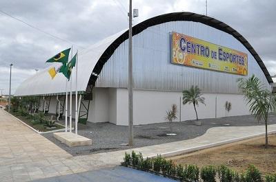 Centro de Esportes José Assef Fares em 2014.