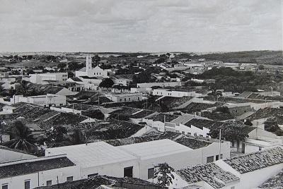 Imagem do Bairro Centro, no início da década de 1980.