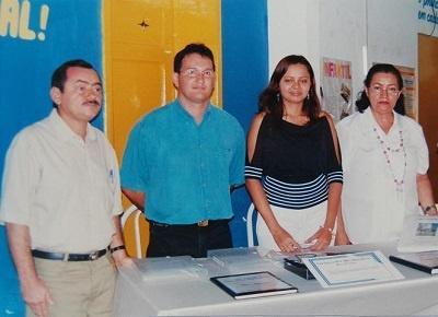 Membros do Clube Literário Profª Maria Rosary Pereira.