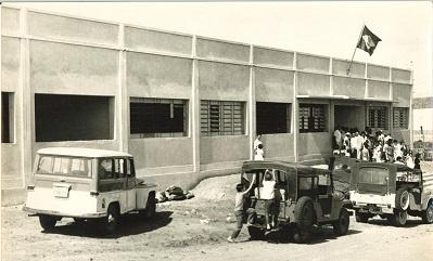Escola de 1º Grau Dom Terceiro em 1964.
