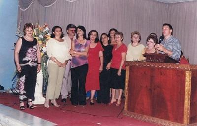 Imagem de alguns professores do Colégio Dom Terceiro, em 2008.
