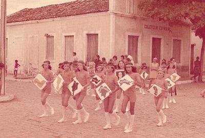 Imagem da Coletoria do Estado, em 1975.