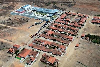 Imagem aérea do Conjunto COHAB, em 2014.
