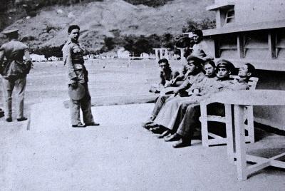 Imagem dos tempos de caserna, 1934.