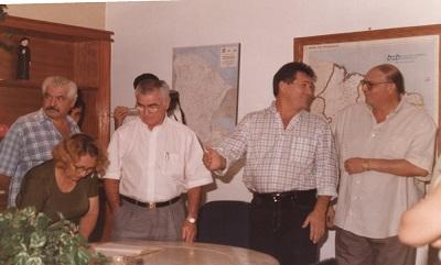 Imagem da solenidade de posse do Dr. Francisco Vieira Carneiro, em 1997.