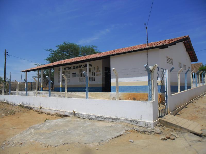 Escola de Ensino Fundamental Antônio José da Silva em 2014.