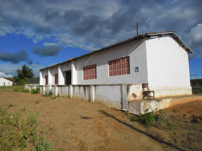 Escola de Ensino Fundamental Antônio Patriolino do Vale em 2013.