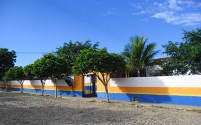 Escola da Ensino Fundamental Benjamim Alves da Silva em 2013.