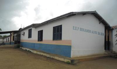 Imagem da Escola de Ensino Fundamental Benjamim Alves da Silva, em 2015.