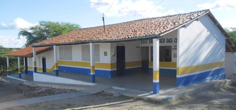 Escola de Ensino Fundamental Francisco Chagas Melo em 2013.