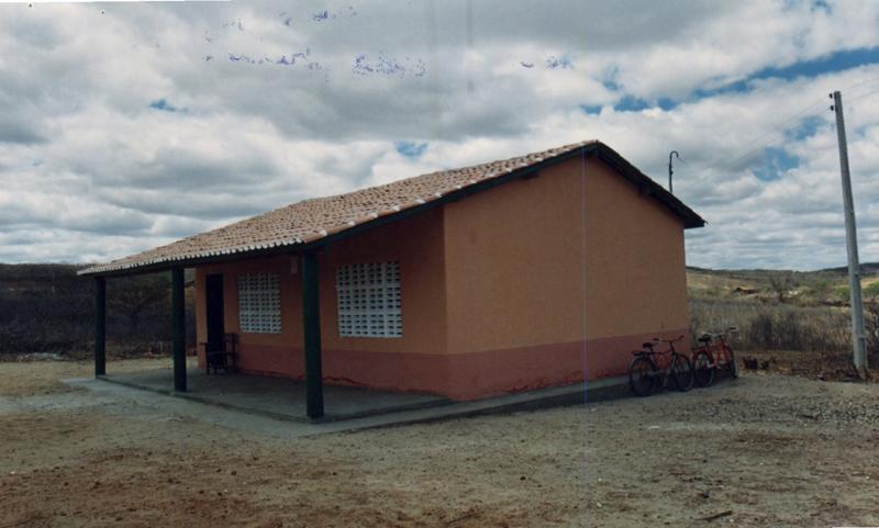 Escola de Ensino Fundamental José Lessa Cavalcante em 2000.