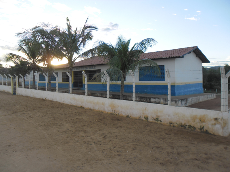 Escola de Ensino Fundamental Luís Martins do Vale em 2013.