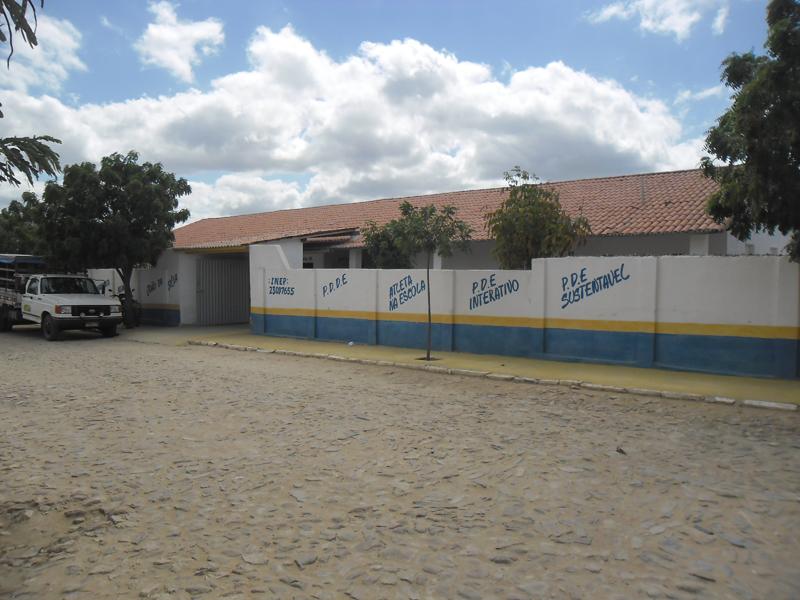 Escola de Ensino Fundamental Manoel João da Silva em 2014.