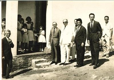 Solenidade de inauguração da Escola de Ensino Fundamental Osmar de Oliveira Fontes.