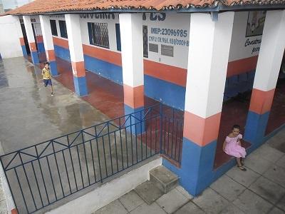 Imagem da EEF Osmar de Oliveira Fontes, em 2016
