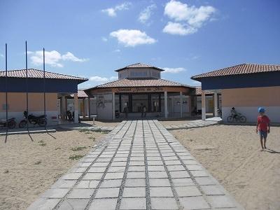 Escola de Ensino Fundamental Samuel Alves da Silva em 2014.