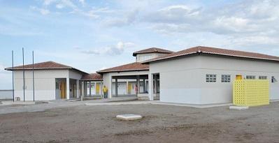 Imagem da Escola de Ensino Fundamental Samuel Alves da Silva, em 2013.