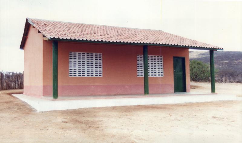 Escola de Ensino Fundamental Santa Rosa em 2001.