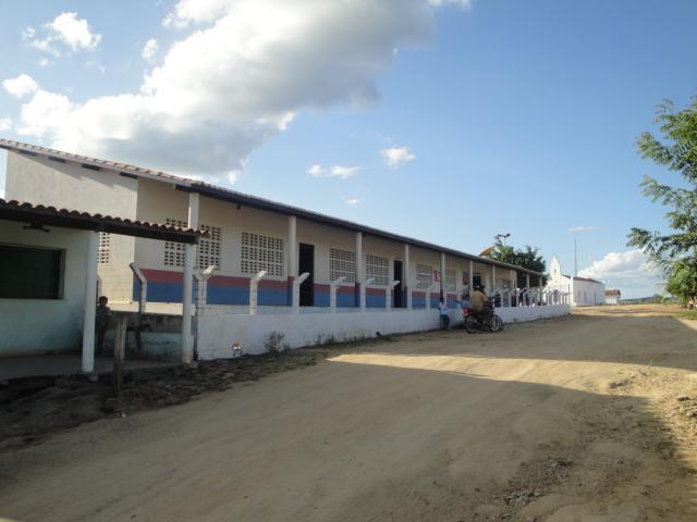 Escola de Ensino Fundamental Walkmar Brasil Santos em 2011.