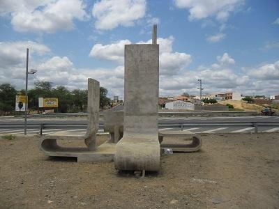 Imagem do monumento do encontro
