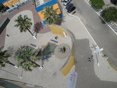 Imagem aérea do Encontro das Pedras, em 2015.