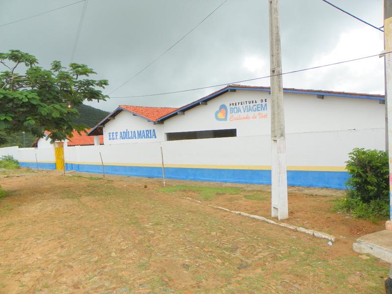 Escola de Ensino Fundamental Adília Maria de Lima em 2010.