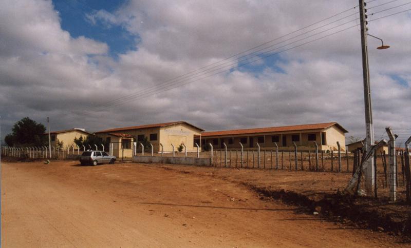 Escola Agrícola Dr. Janival de Almeida Vieira em 2000.