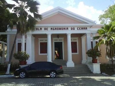 Imagem da Escola de Agronomia do Ceará, em 2013.