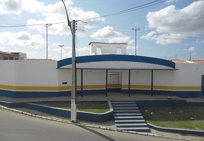 Imagem do Ginásio Poliesportivo Dirceu José dos Santos, em 2013.