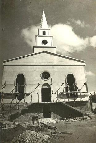 Imagem da Igreja Evangélica Congregacional de Boa Viagem, em 1980.