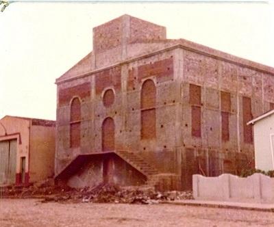 Imagem da Igreja Evangélica Congregacional na época de sua construção.