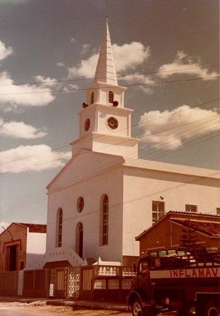 Imagem da Igreja Evangélica Congregacional de Boa Viagem, em 1984.
