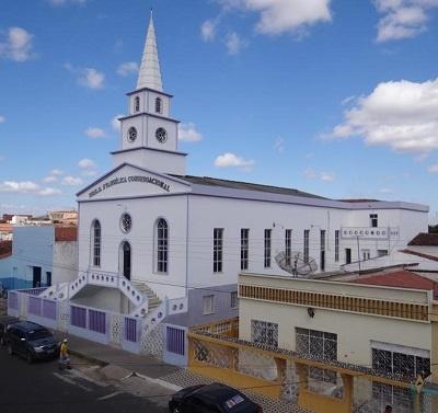 Imagem da Igreja Evangélica Congregacional de Boa Viagem, em 2012.