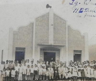 Igreja Evangélica Congregacional de Cupira.