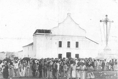 Imagem da Igreja Matriz de Nossa Senhora da Boa Viagem, em 1936.