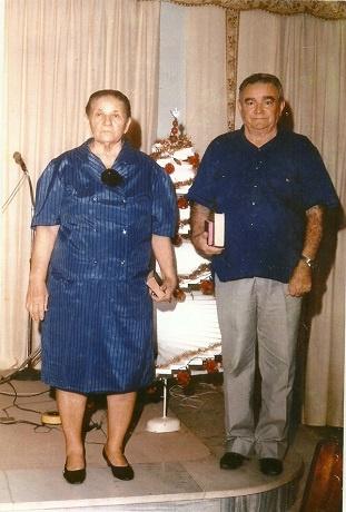 Imagem do Presb. Jonas Fragoso e dua esposa Luiza Maria.
